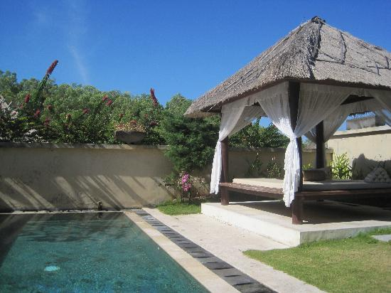 Ocean Blue Bali: our private pool