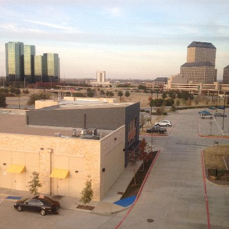 aloft Las Colinas: View from 4th floor