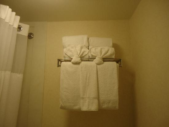Tropicana Inn & Suites: fresh towels