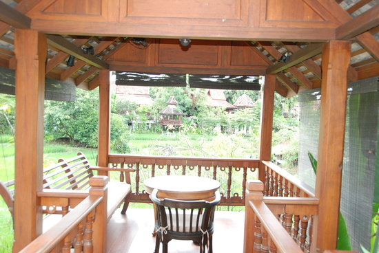 Mandarin Oriental Dhara Dhevi, Chiang Mai: the gazebo outside my villa
