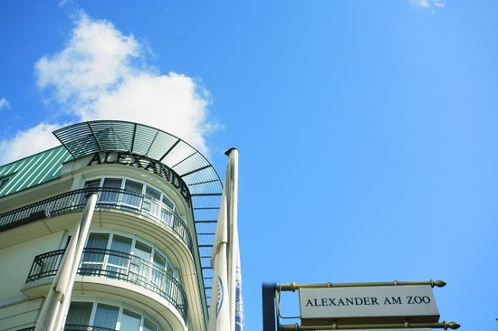 Hotel Alexander am Zoo Frankfurt am Main Aussenansicht