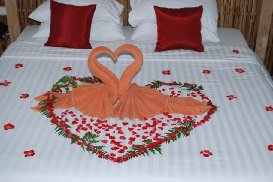 Wedding night decoration - Picture of Railay Beach, Krabi Town ...