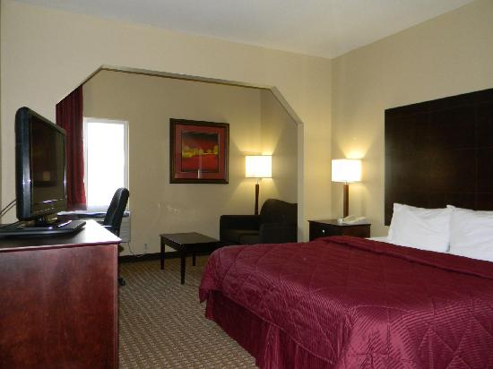 Quality Inn Pensacola - Pine Forest: King Executive With Sofa Sleeper