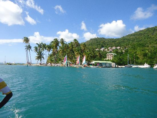 Marigot Beach Club and Dive Resort: Marigot Bay