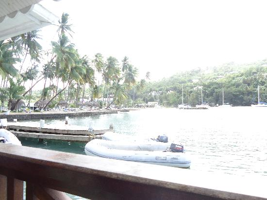 Marigot Beach Club and Dive Resort: Beach