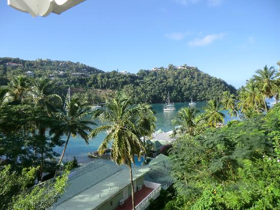 Marigot Beach Club and Dive Resort: View from Room 7