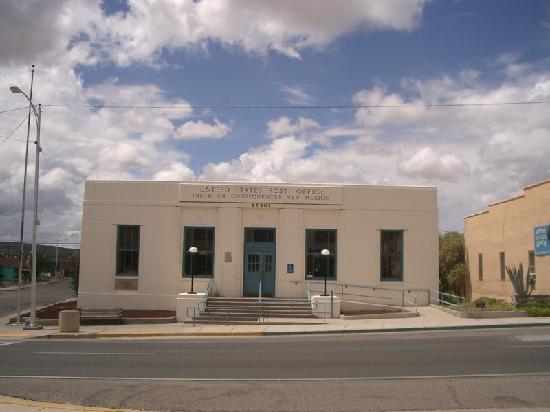 Truth or Consequences, NM: historic Post Office in downtown T or C