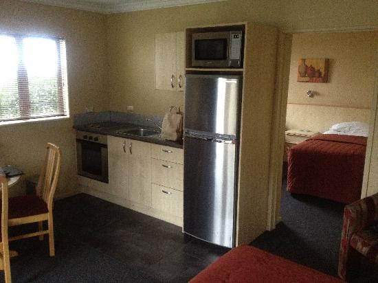 Blenheim Spa Motor Lodge: Kitchenette