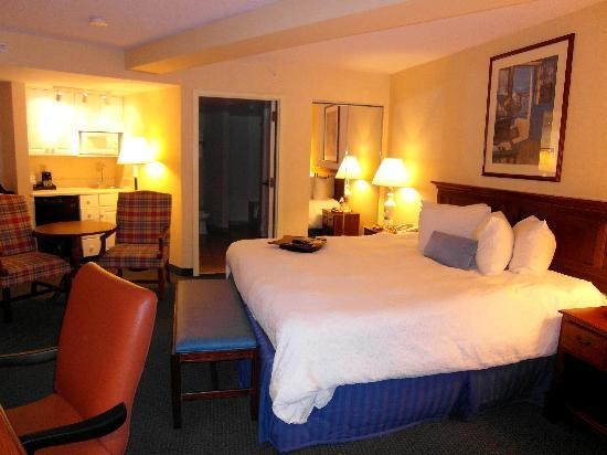 Hampton Inn Roanoke/Salem: Clean, comfy, spacious room