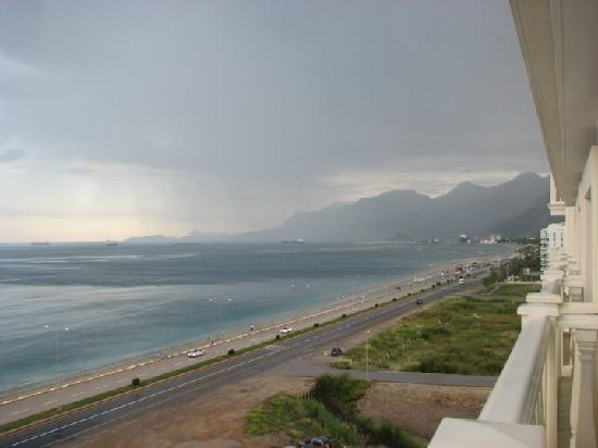 Crowne Plaza Hotel Antalya: Sea view from jr. suite