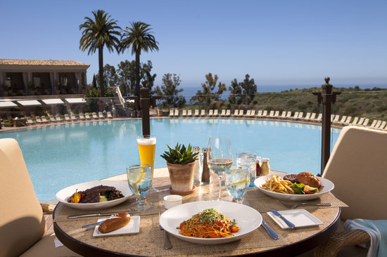 Coliseum pool grill newport beach menu prices for Pool and food
