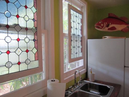 Colony Condominiums: kitchen windows