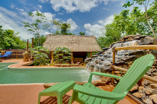 Mariposa Jungle Lodge: Mariposa Pool & Palapa Bar