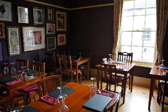 Tarvin, UK: Dining area