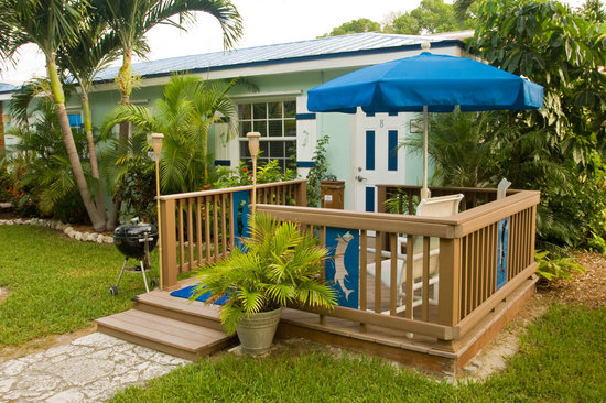 Tavernier, FL: Private deck