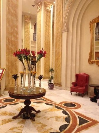 Regency Palace Amman: the lobby