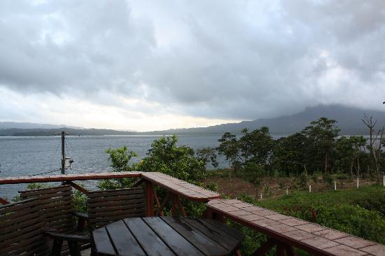 Arenal Vista Lodge: View of Lake Arenal from the hotel