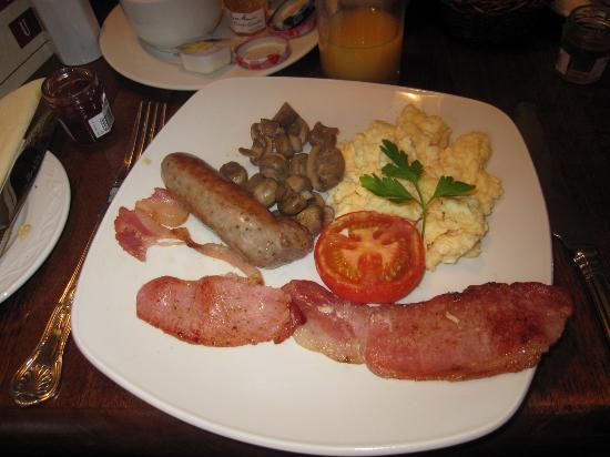 Gullivers Hotel: Nice full english
