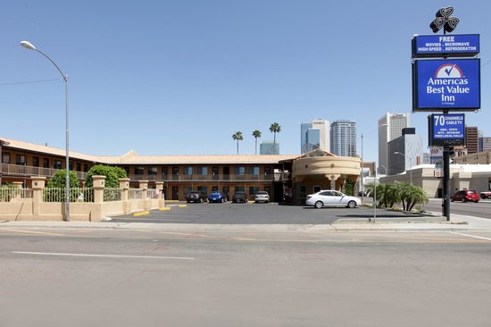 Americas Best Value Inn - Downtown Phoenix: Main Exterior