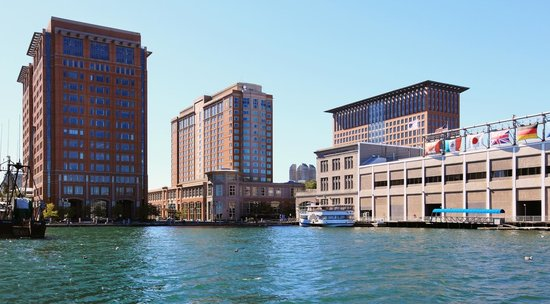 Seaport Boston Hotel : The Seaport Hotel on Boston Harbor