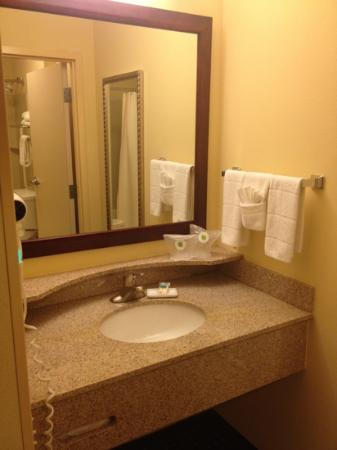 SpringHill Suites Dallas Las Colinas: Bathroom Vanity Area