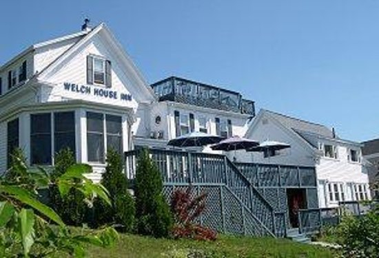 ‪‪Welch House Inn Bed and Breakfast‬: The Welch House from Harborside‬