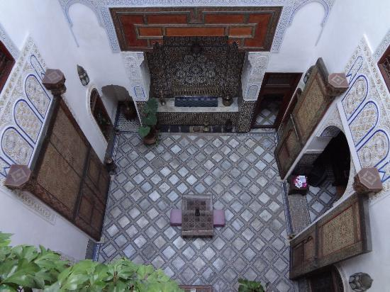 Dar Attajalli: Cortile interno