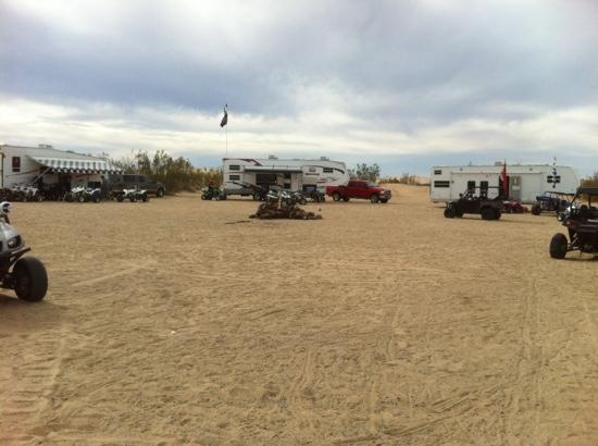 Wash Camping Picture Of Glamis Dunes California