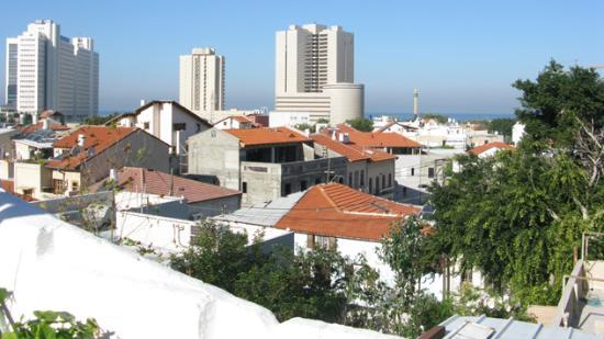 Villa Vilina Oasis in Neve Tzedek: View from rooftop