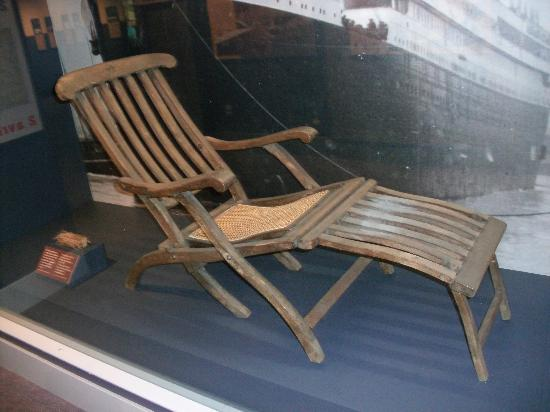Titanic Deck Chairs Image