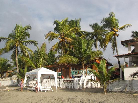 Cabanas Isla del Sol: View from the Beach