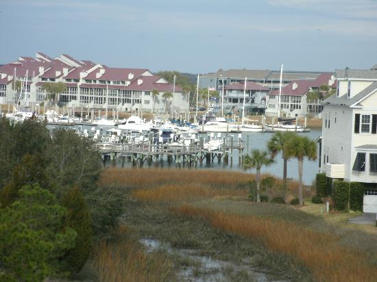 Water's Edge Inn at Folly Beach: View from balcony.