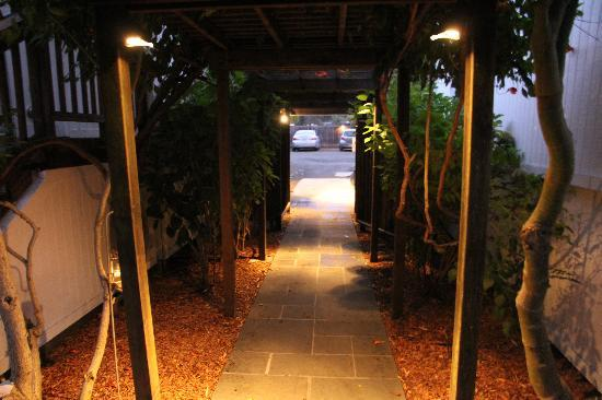 boon hotel & spa: Boon Entrance
