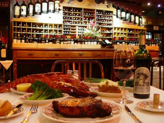 Wine Picture Of Sparks Steak House New York City