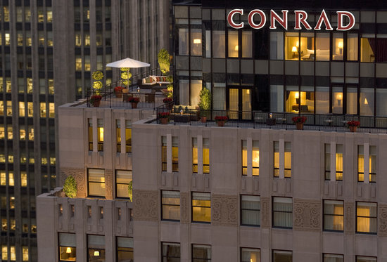 Conrad Chicago: Grand Terrace Suite atop The Magnificent Mile