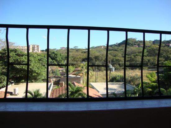 Hotel Flores: View from the 2nd floor