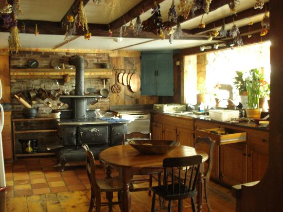 Blueberry Hill Inn: Check out the stove