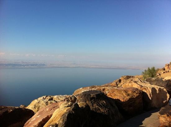 Dead Sea Basin From The Panoramic Complex Picture Of