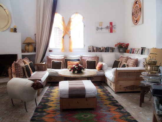 Dar Liouba: ryad living room