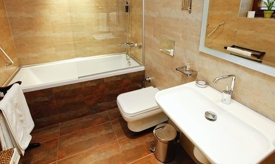 Galateia Residence: Junior Deluxe 1 Bedroom Apartment - Bathroom