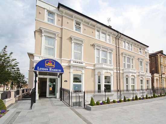 Best western london highbury england hotel reviews for Best modern hotels in london