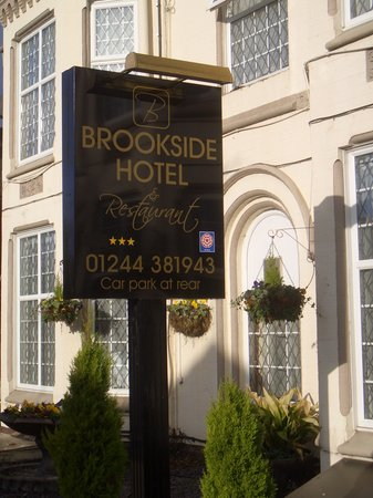 Brookside Hotel: 3 Star Visit England Brookside Hotel