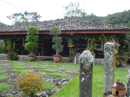 Hacienda Tayutic: dentro hotel