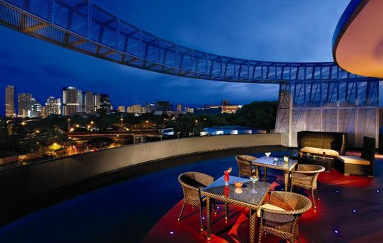 โรงแรมวังส์: Soak in views at our rooftop lounge, Halo