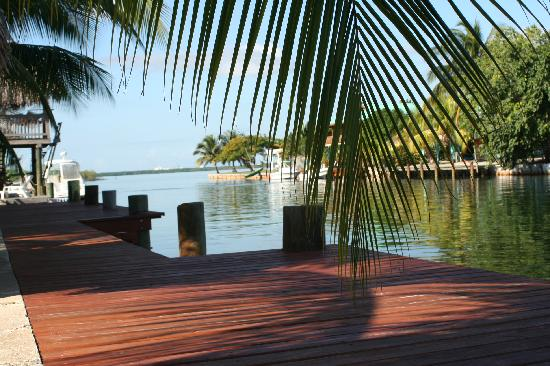 Decked Out House: Northside private dock, Swim off it or walk 4 minutes to the sea.