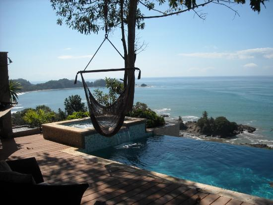 Dominical, Costa Rica: Cottage #1 pooldeck