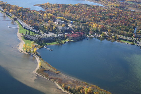 Breezy Point Resort: Resort Aerial