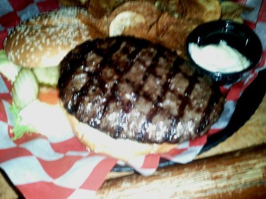 Elgin, IL: Yep, that's the dollar burger during special months.