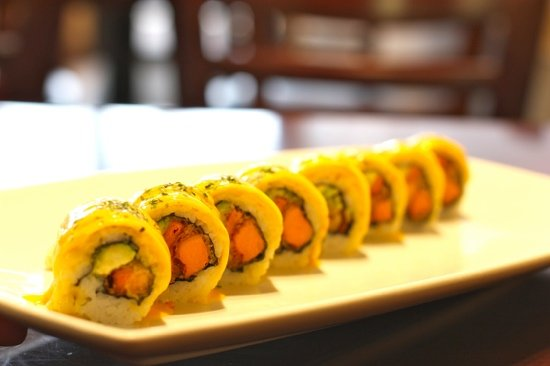 Roll combos (3 roll combo A) - Picture of BlowFish Sushi & Japanese ...