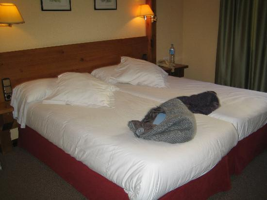 Sport Hotel: a typical bedroom